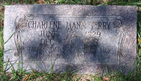 MANN TERRY, CHARLENE - Garland County, Arkansas | CHARLENE MANN TERRY - Arkansas Gravestone Photos