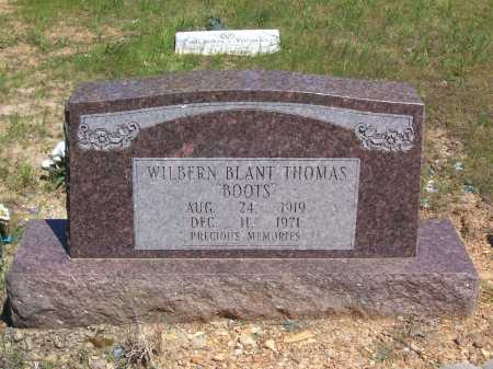 "THOMAS, WILBERN BLANT ""BOOTS"" - Garland County, Arkansas 
