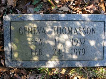 THOMASSON, GENEVA - Garland County, Arkansas | GENEVA THOMASSON - Arkansas Gravestone Photos