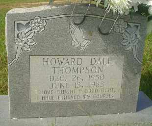 THOMPSON, HOWARD DALE - Garland County, Arkansas | HOWARD DALE THOMPSON - Arkansas Gravestone Photos