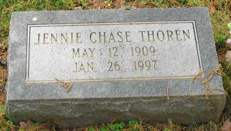 CHASE THOREN, JENNIE - Garland County, Arkansas | JENNIE CHASE THOREN - Arkansas Gravestone Photos