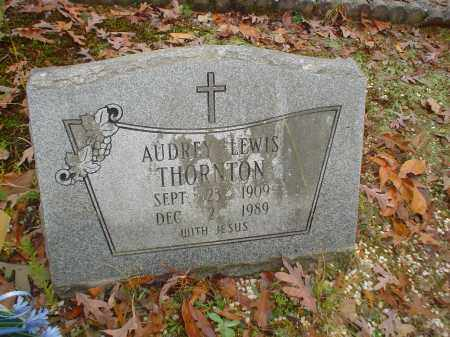 LEWIS THORNTON, AUDREY - Garland County, Arkansas | AUDREY LEWIS THORNTON - Arkansas Gravestone Photos