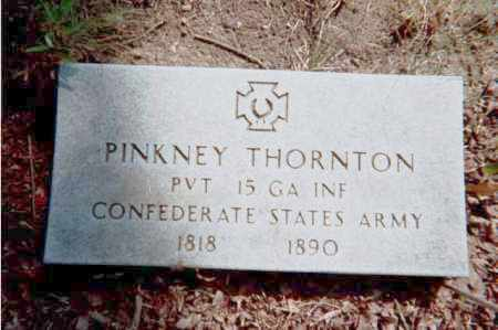 THORNTON (VETERAN CSA), PINKNEY - Garland County, Arkansas | PINKNEY THORNTON (VETERAN CSA) - Arkansas Gravestone Photos