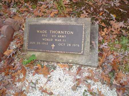 THORNTON, WADE - Garland County, Arkansas | WADE THORNTON - Arkansas Gravestone Photos