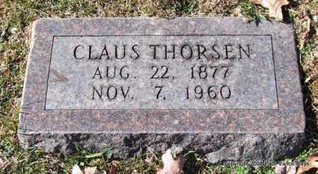THORSEN, CLAUS - Garland County, Arkansas | CLAUS THORSEN - Arkansas Gravestone Photos