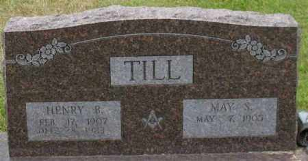 TILL, MAY S. - Garland County, Arkansas | MAY S. TILL - Arkansas Gravestone Photos