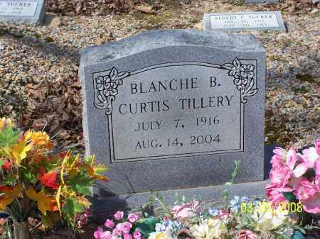 TILLERY, BLANCHE B. CURTIS - Garland County, Arkansas | BLANCHE B. CURTIS TILLERY - Arkansas Gravestone Photos