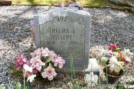 TILLERY, THELMA L. - Garland County, Arkansas | THELMA L. TILLERY - Arkansas Gravestone Photos