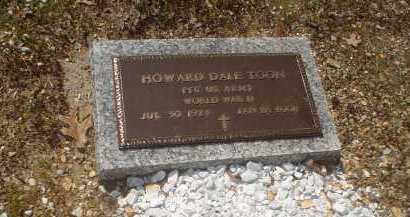 TOON (VETERAN WWII), HOWARD DALE - Garland County, Arkansas | HOWARD DALE TOON (VETERAN WWII) - Arkansas Gravestone Photos