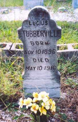 TUBBERVILLE, LUCIUS - Garland County, Arkansas | LUCIUS TUBBERVILLE - Arkansas Gravestone Photos