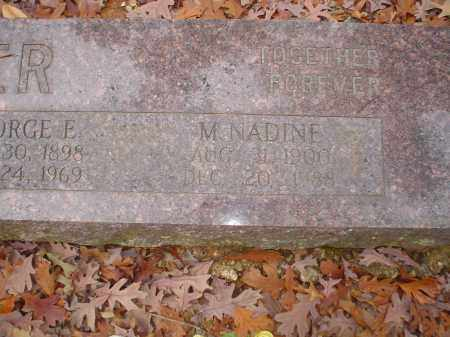 TUCKER, M. NADINE - Garland County, Arkansas | M. NADINE TUCKER - Arkansas Gravestone Photos