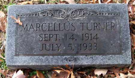 TURNER, MARCELLUS - Garland County, Arkansas | MARCELLUS TURNER - Arkansas Gravestone Photos
