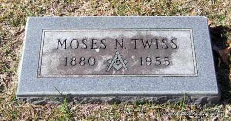 TWISS, MOSES N. - Garland County, Arkansas | MOSES N. TWISS - Arkansas Gravestone Photos