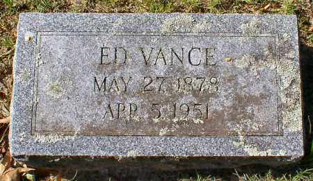 VANCE, ED - Garland County, Arkansas | ED VANCE - Arkansas Gravestone Photos