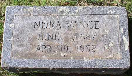 VANCE, NORA - Garland County, Arkansas | NORA VANCE - Arkansas Gravestone Photos