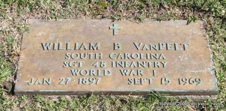 VANPELT (VETERAN WWI), WILLIAM B - Garland County, Arkansas | WILLIAM B VANPELT (VETERAN WWI) - Arkansas Gravestone Photos