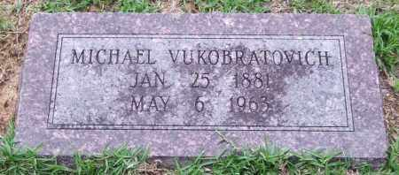 VUKOBRATOVICH, MICHAEL - Garland County, Arkansas | MICHAEL VUKOBRATOVICH - Arkansas Gravestone Photos