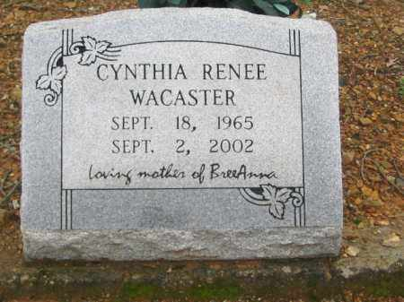 RENEE WACASTER, CYNTHIA - Garland County, Arkansas | CYNTHIA RENEE WACASTER - Arkansas Gravestone Photos