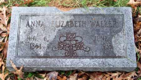 WALKER, ANNA ELIZABETH - Garland County, Arkansas | ANNA ELIZABETH WALKER - Arkansas Gravestone Photos