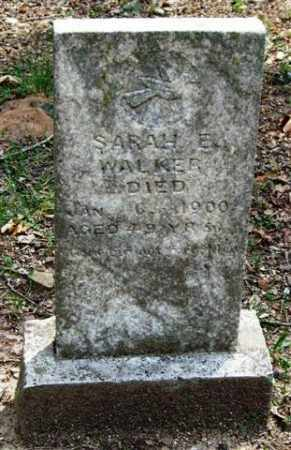 WALKER, SARAH E. - Garland County, Arkansas | SARAH E. WALKER - Arkansas Gravestone Photos