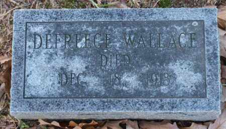 WALLACE, DEFREECE - Garland County, Arkansas | DEFREECE WALLACE - Arkansas Gravestone Photos
