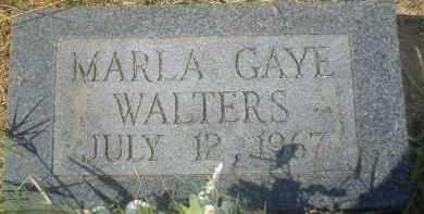 WALTERS, MARLA GAYE - Garland County, Arkansas | MARLA GAYE WALTERS - Arkansas Gravestone Photos
