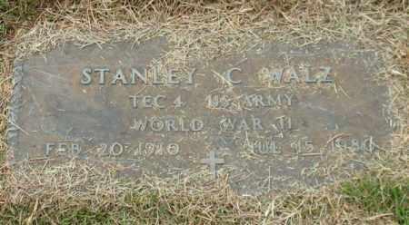 WALZ (VETERAN WWII), STANLEY C - Garland County, Arkansas | STANLEY C WALZ (VETERAN WWII) - Arkansas Gravestone Photos