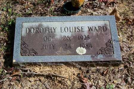 WARD, DOROTHY LOUISE - Garland County, Arkansas | DOROTHY LOUISE WARD - Arkansas Gravestone Photos