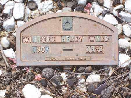 WARD, HENRY WINFORD - Garland County, Arkansas | HENRY WINFORD WARD - Arkansas Gravestone Photos