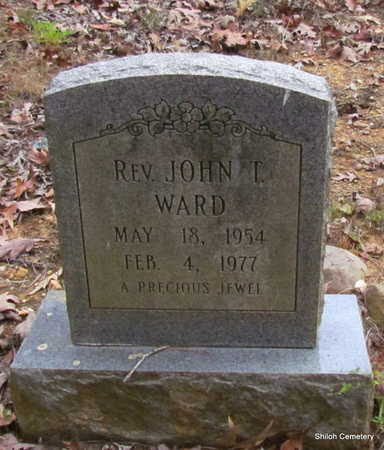WARD, REV., JOHN T. - Garland County, Arkansas | JOHN T. WARD, REV. - Arkansas Gravestone Photos