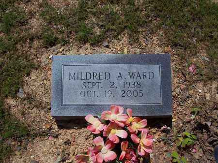 WARD, MILDRED A. - Garland County, Arkansas | MILDRED A. WARD - Arkansas Gravestone Photos