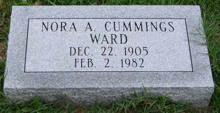 CUMMINGS WARD, NORA A. - Garland County, Arkansas | NORA A. CUMMINGS WARD - Arkansas Gravestone Photos