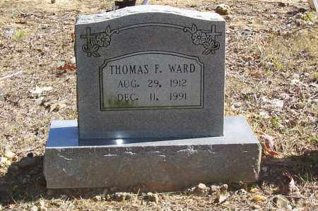 WARD, THOMAS F. - Garland County, Arkansas | THOMAS F. WARD - Arkansas Gravestone Photos