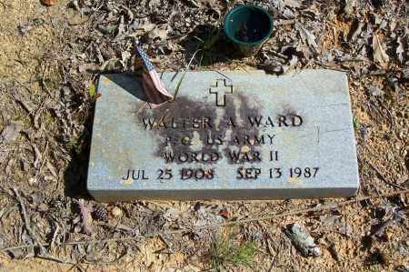 WARD (VETERAN WWII), WALTER A - Garland County, Arkansas | WALTER A WARD (VETERAN WWII) - Arkansas Gravestone Photos