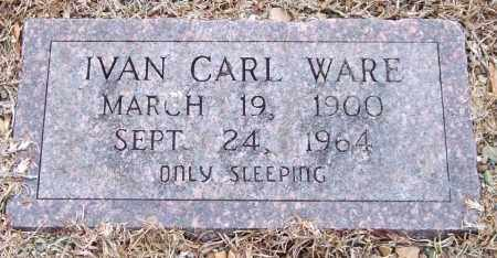 WARE, IVAN CARL - Garland County, Arkansas | IVAN CARL WARE - Arkansas Gravestone Photos
