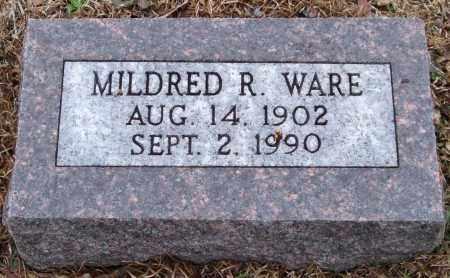 WARE, MILDRED R. - Garland County, Arkansas | MILDRED R. WARE - Arkansas Gravestone Photos