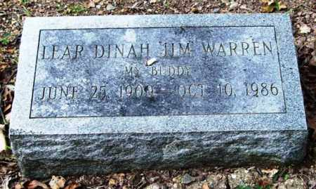 "WARREN, LEAR DINAH ""JIM"" - Garland County, Arkansas 