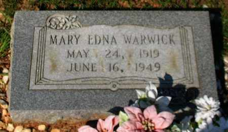 WARWICK, MARY EDNA - Garland County, Arkansas | MARY EDNA WARWICK - Arkansas Gravestone Photos
