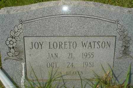LORETO WATSON, JOY - Garland County, Arkansas | JOY LORETO WATSON - Arkansas Gravestone Photos