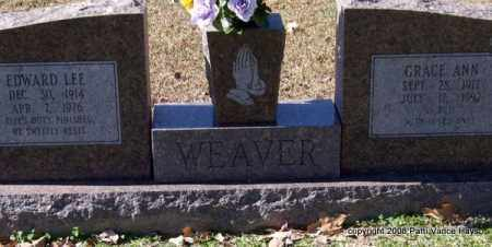WEAVER, GRACE ANN - Garland County, Arkansas | GRACE ANN WEAVER - Arkansas Gravestone Photos