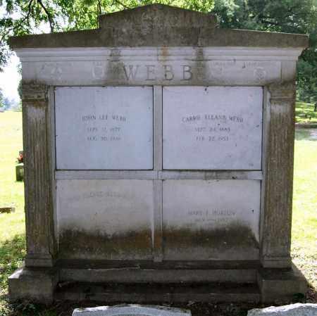 WEBB, FAMILY TOMB - Garland County, Arkansas | FAMILY TOMB WEBB - Arkansas Gravestone Photos
