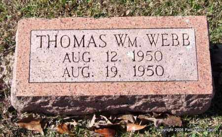 WEBB, THOMAS WILLIAM - Garland County, Arkansas | THOMAS WILLIAM WEBB - Arkansas Gravestone Photos