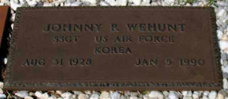 WEHUNT (VETERAN KOR), JOHNNY R - Garland County, Arkansas | JOHNNY R WEHUNT (VETERAN KOR) - Arkansas Gravestone Photos