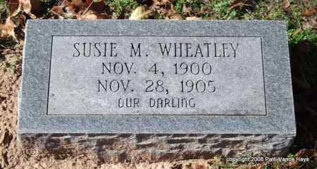 WHEATLEY, SUSIE M. - Garland County, Arkansas | SUSIE M. WHEATLEY - Arkansas Gravestone Photos
