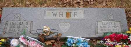 WHISENHUNT WHITE, THELMA D. - Garland County, Arkansas | THELMA D. WHISENHUNT WHITE - Arkansas Gravestone Photos