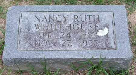 WHITEHOUSE, NANCY RUTH - Garland County, Arkansas | NANCY RUTH WHITEHOUSE - Arkansas Gravestone Photos