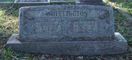 WHITTINGTON, HIRAM ALFRED - Garland County, Arkansas | HIRAM ALFRED WHITTINGTON - Arkansas Gravestone Photos