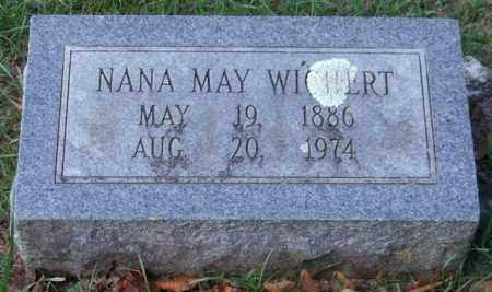 WICHERT, NANA MAY - Garland County, Arkansas | NANA MAY WICHERT - Arkansas Gravestone Photos