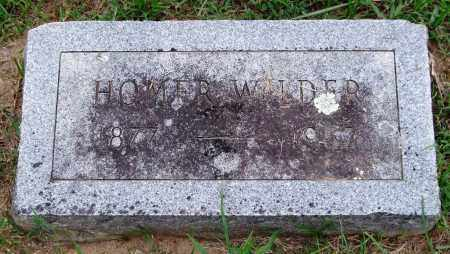 WILDER, HOMER - Garland County, Arkansas | HOMER WILDER - Arkansas Gravestone Photos