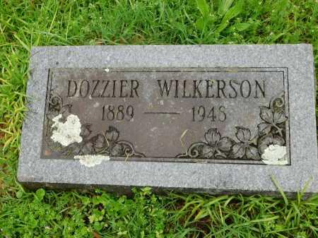 WILKERSON, DOZZIER - Garland County, Arkansas | DOZZIER WILKERSON - Arkansas Gravestone Photos